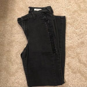 Jessica Simpson jeans with jewels on pant legs